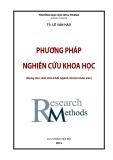 Phương pháp nghiên cứu khoa học (Dùng cho sinh viên khối ngành Xã hội nhân văn)