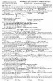 Đề kiểm tra kiến thức lớp 12 năm học 2014-2015 môn Hóa học - Trường THPT chuyên Khoa học tự nhiên (Mã đề thi 146)