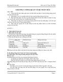 Bài giảng Kế toán máy: Chương 1 - Tổng quan về kế toán máy