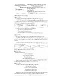 Đề kiểm tra chọn học sinh vào lớp 6 chất lượng cao năm học 2013-2014 môn Tiếng Việt - Sở Giáo dục và Đào tạo Tiền Giang