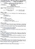 Đề kiểm tra chọn học sinh vào lớp 6 chất lượng cao năm 2013 môn Toán - Sở Giáo dục và Đào tạo Tiền Giang