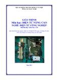 Giáo trình môn học: Điện tử nâng cao - Nghề Điện tử công nghiệp