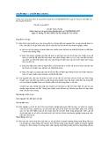 Hệ thống chuẩn mực kế toán Việt Nam - Chuẩn mực số 01: Chuẩn mực chung