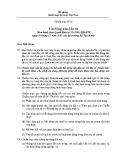 Hệ thống chuẩn mực kế toán Việt Nam - Chuẩn mực số 05: Bất động sản đầu tư