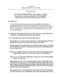 Hệ thống chuẩn mực kế toán Việt Nam - Chuẩn mực kế toán số 07: Kế toán các khoản đầu tư vào công ty liên kết