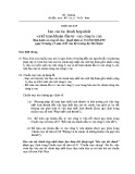 Hệ thống chuẩn mực kế toán Việt Nam - Chuẩn mực kế toán số 25: Báo cáo tài chính hợp nhất và kế toán khoản đầu tư vào công ty con