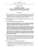 Hệ thống chuẩn mực kế toán Việt Nam - Chuẩn mực kế toán số 15: Hợp đồng xây dựng