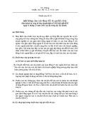 Hệ thống chuẩn mực kế toán Việt Nam - Chuẩn mực kế toán số 10: Ảnh hưởng của việc thay đổi tỷ giá hối đoái
