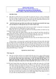 Hệ thống chuẩn mực kiểm toán Việt Nam - Chuẩn mực số 320: Tính trọng yếu trong kiểm toán