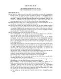 Hệ thống chuẩn mực kế toán Việt Nam - Chuẩn mực số 29: Thay đổi chính sách kế toán, ước tính kế toán và các sai sót