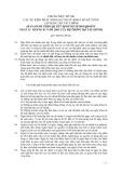 Hệ thống chuẩn mực kiểm toán Việt Nam - Chuẩn mực số 560: Các sự kiện phát sinh sau ngày khoá sổ kế toán lập báo cáo tài chính