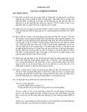 Hệ thống chuẩn mực kế toán Việt Nam - Chuẩn mực số 04: Tài sản cố định vô hình
