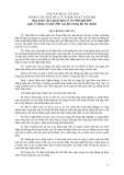 Hệ thống chuẩn mực kiểm toán Việt Nam - Chuẩn mực số 400: Đánh giá rủi ro và kiểm soát nội bộ