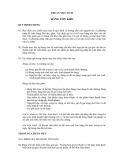 Hệ thống chuẩn mực kế toán Việt Nam - Chuẩn mực số 02: Hàng tồn kho
