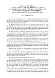 Hệ thống chuẩn mực kiểm toán Việt Nam - Chuẩn mực số 250: Xem xét tính tuân thủ pháp luật và các quy định trong kiểm toán báo cáo tài chính