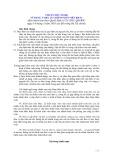 Hệ thống chuẩn mực kiểm toán Việt Nam - Chuẩn mực số 600: Sử dụng tài liệu của kiểm toán viên khác