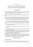 Hệ thống chuẩn mực kiểm toán Việt Nam - Chuẩn mực số 401: Thực hiện kiểm toán trong môi trường tin học