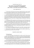Hệ thống chuẩn mực kiểm toán Việt Nam - Chuẩn mực số 310: Hiểu biết về tình hình kinh doanh