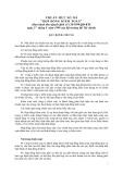 Hệ thống chuẩn mực kiểm toán Việt Nam - Chuẩn mực số 210: Hợp đồng kiểm toán