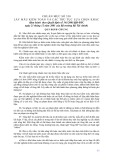 Hệ thống chuẩn mực kiểm toán Việt Nam - Chuẩn mực số 530: Lấy mẫu kiểm toán và các thủ tục lựa chọn khác