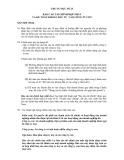 Hệ thống chuẩn mực kế toán Việt Nam - Chuẩn mực số 25: Báo cáo tài chính hợp nhất và kế toán khoản đầu tư vào công ty con