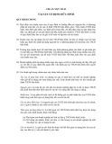 Hệ thống chuẩn mực kế toán Việt Nam - Chuẩn mực số 03: Tài sản cố định hữu hình