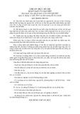 Hệ thống chuẩn mực kiểm toán Việt Nam - Chuẩn mực số 240: Gian lận và sai sót
