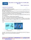 Bài giảng 5: Cấu trúc phân tử của hợp chất hữu cơ - Nguyễn Thị Thọ