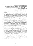Nghiên cứu xây dựng quy trình kỹ thuật sản xuất giống nhân tạo các thác lác - Lê Thị Bình, Ngô Văn Ngọc