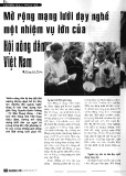 Mở rộng mạng lưới dạy nghề một nhiệm vụ lớn của Hội nông dân Việt Nam - Hoàng Anh Thắng