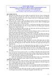 Hệ thống chuẩn mực kiểm toán Việt Nam - Chuẩn mực số 260: Trao đổi các vấn đề quan trọng phát sinh khi kiểm toán với ban lãnh đạo đơn vị được kiểm toán