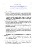 Hệ thống chuẩn mực kiểm toán Việt Nam - Chuẩn mực số 920: Kiểm tra thông tin tài chính trên cơ sở các thủ tục thoả thuận trước