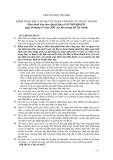 Hệ thống chuẩn mực kiểm toán Việt Nam - Chuẩn mực số 1000: Kiểm toán báo cáo quyết toán vốn đầu tư hoàn thành
