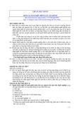 Hệ thống chuẩn mực kiểm toán Việt Nam - Chuẩn mực số 930: Dịch vụ tổng hợp thông tin tài chính