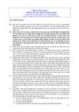 Hệ thống chuẩn mực kiểm toán Việt Nam - Chuẩn mực số 505: Thông tin xác nhận từ bên ngoài