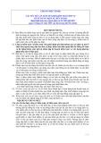 Hệ thống chuẩn mực kiểm toán Việt Nam - Chuẩn mực số 402: Các yếu tố cần xem xét khi kiểm toán đơn vị có sử dụng dịch vụ bên ngoài