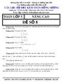 Đề thi Toán lớp 5 nâng cao - Đề số 8