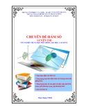 Chuyên đề hàm số (Luyện thi tốt nghiệp Trung học phổ thông, Đại học, Cao đẳng)