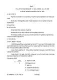 Bài giảng Bài 3: Chất độc hóa học dùng trong quân sự cách phòng chống điều trị
