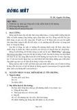 Bài giảng Bỏng mắt - TS. BS. Nguyễn Chí Hưng