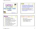 Bài giảng Kế toán tài chính: Chương 5 - TS. Nguyễn Thị Kim Cúc