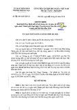 Quyết định số: 06/2016/QĐ-UBND thành phố Hà Nội