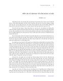 Tiếp cận xã hội học về công bằng xã hội - Tương Lai