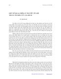 Một số quan điểm lý thuyết về giới trong nghiên cứu gia đình - Vũ Mạnh Lợi