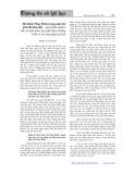 Mô hình Thụy Điển trong một thế giới đã thay đổi, góp phần nghiên cứu về mối quan hệ giữa tăng trưởng kinh tế và công bằng xã hội - Phạm Văn Hanh