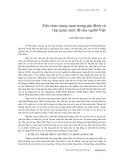 Cấu trúc trọng nam trong gia đình và tập quán sinh đẻ của người Việt - Nguyễn Văn Chính
