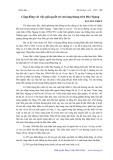 Cộng đồng với việc giải quyết trẻ em lang thang trên Đèo Ngang - Nguyễn Thiết