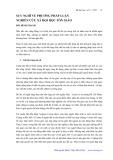 Suy nghĩ về phương pháp luận nghiên cứu xã hội học Tôn giáo - Bùi Đình Thanh