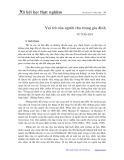 Vai trò của người cha trong gia đình - Vũ Tấn Huy
