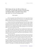 Ảnh hưởng của học vấn đến sự tham gia và quyền ra quyết định của phụ nữ nông thôn tỉnh Quảng Ngãi trong thiết chế gia đình: Qua nghiên cứu 3 xã tại tỉnh Quảng Ngãi - Trần Thị Kim